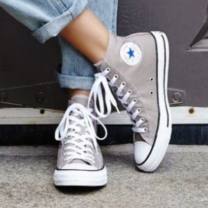 Converse • Grey High Tops